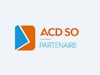 Logo ACD SO Partenaire