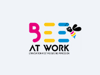 Logo Bee at work